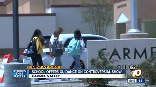 School offers guidance on controversial show - Video