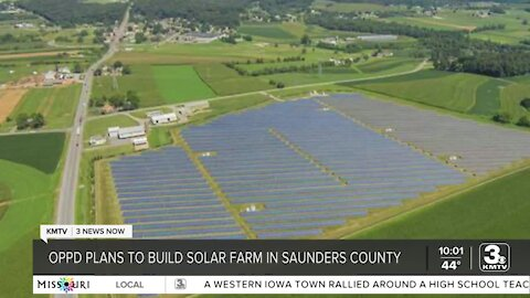OPPD to build solar farm in Saunders County
