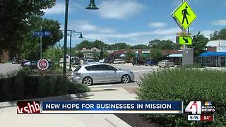 Johnson Drive businesses see hope coming down road - Video