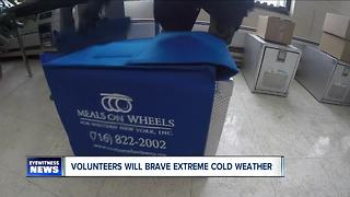 Volunteers will brave extreme cold weather
