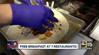 Restaurants offering FREE breakfast - Video