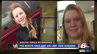 Five months since Abby and Libby were murdered - Video