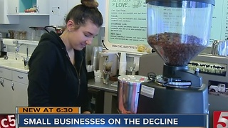 Small Businesses On The Decline In Music City - Video