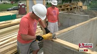 Partnership builds new home for family - Video