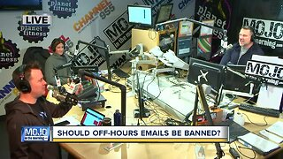 Mojo in the Morning: Should off-hour emails be banned?