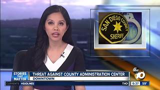 Threat against county administration center - Video