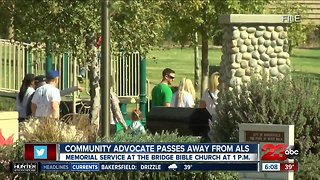 Memorial service to honor founding member of Bakersfield Safe Streets Partnership - Video