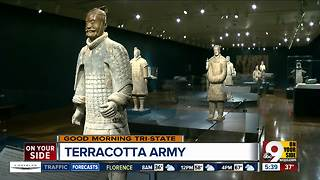 Terracotta Army: Guardians of the First Emperor's tomb march to Cincinnati - Video