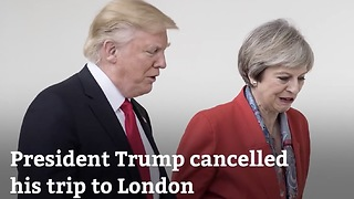 Trump Not Going To London Because Of Obama - Video