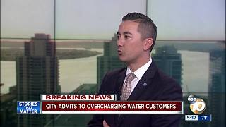 Councilman Cate addresses water bills - Video