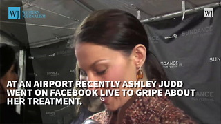 "Ashley Judd Complains About ""Everyday Sexism"" During Facebook Rant - Video"