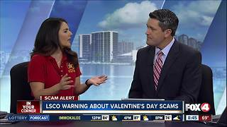 Romance scam warning on Valentine's Day - Video