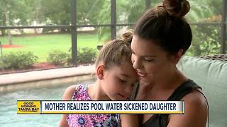 4-year-old Sarasota girl home after she nearly dying from dry drowning - Video