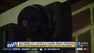 Security camera rebate program moves forward