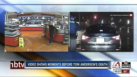 Video shows moments before Toni Anderson's death