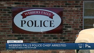 Webbers Falls Police Chief arrest