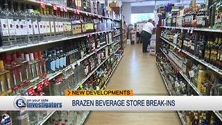 Police investigating series of break-ins at beverage stores across Northeast Ohio - Video