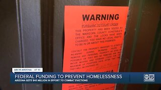 Federal funding to prevent homelessness