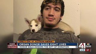 Hospital honors organ donor killed in crash - Video