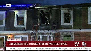 Fire in Middle River leaves multiple injured