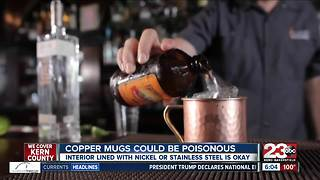 Interior lining of copper mugs could be dangerous to your health - Video