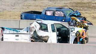 I44 Rollover Wreck - Video