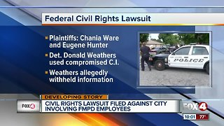 Lawsuit filed against the City of Fort Myers and Fort Myers Police