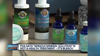 Ask Dr. Nandi: FDA warns consumers against drinking Mineral Miracle Solution, says it's 'the same as bleach'