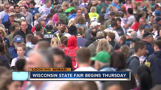 Wisconsin State Fair kicks off Thursday - Video