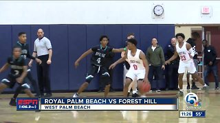 Royal Palm Beach vs Forest Hill hoops 1/25