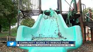 Community plans to rebuild Butterfly Park after fire