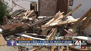 Linwood residents continue rebuilding lives after tornado