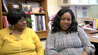 Rufus King principal, her mom share school connection
