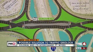 Possible solution to gridlock traffic at Colonial and I-75 interchange - Video