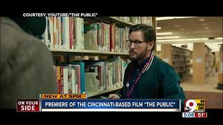 Premiere of Cincinnati-based film 'The Public' - Video