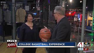 College Basketball Experience bustles with Big 12 tournament in town - Video