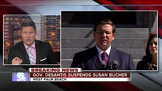 Gov. suspends Palm Beach County Elections Supervisor