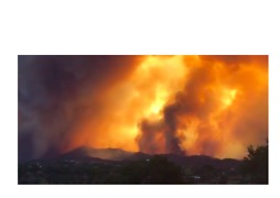 Thomas Fire Darkens Blue Skies Over Ventura County - Video