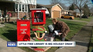 Little Free Library is a big draw in West Seneca