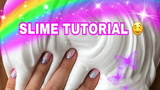 SLIME DIY - How To Make Marshmallow Soft Serve Bubble Gum Slime - BEST And EASY RECIPE