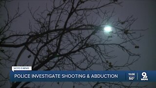 Police investigate shooting, abduction