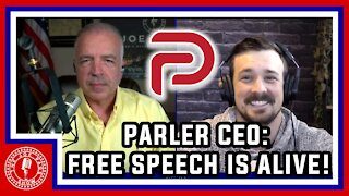Parler CEO John Matze | Free Speech Does Exist On Social
