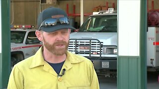 Denver7 Gives fund donates $5,000 to Rist Canyon Volunteer Fire Department for wildfire efforts