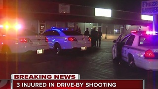 Multiple injuries after drive by shooting in East Tulsa - Video