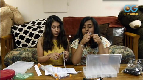 Teens Selling Handmade Bracelets Help Heal Cleft Lip & Palate