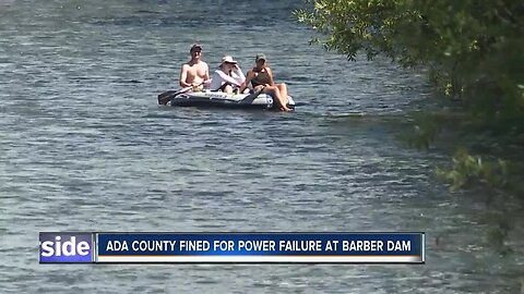 Ada County fined for power failure at Barber Dam