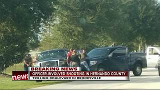 Hernando County Sheriff's Office investigating officer-involved shooting