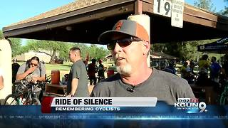 Ride of Silence pays tribute to cyclists killed - Video