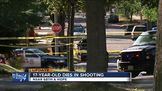 17-year-old boy shot, killed Saturday afternoon in Milwaukee - Video