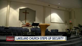 Local church steps up security following Texas church shooting - Video